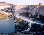 Озеро из родника Св. Климента в карьере Инкермана