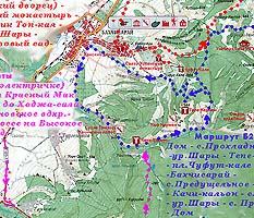 маршруты к Бахчисараю и пещерным городам