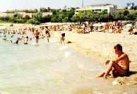 Пляж в Орловке